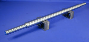 BHJ 2-Inch Precision Support Bar, Specially-Machined