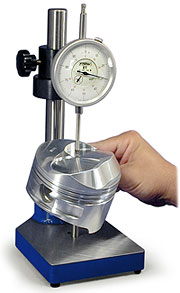 BHJ Piston Measurement Stand In Use