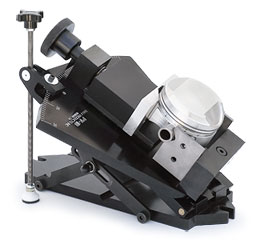 BHJ Compound Angle Piston Vise with Vertical Tilt Protractor