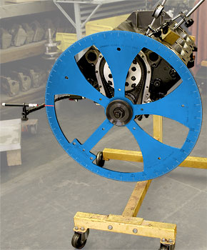 BHJ 24 Inch Laser Degree Wheel